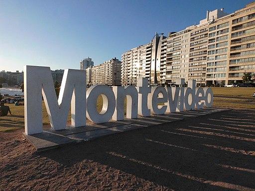 Letras Montevideo solo