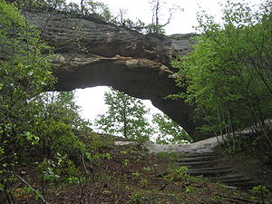 Natural Arch, Daniel Boone National Forest, Ke...