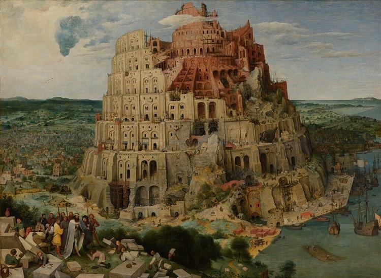 Pieter Bruegel the Elder - The Tower of Babel (Vienna) - Google Art Project