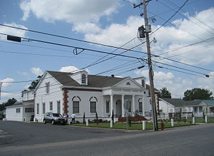 Raceland, Louisiana. Funeral home.
