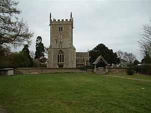 English: St. Mary Magdalene Church, South Marston.