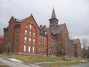 The University of Vermont Old Mill, the oldest...