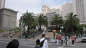 Union Square in San Francisco.