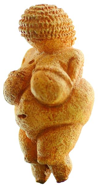 File:Venus von Willendorf 01.jpg Urheber des Fotos: User:MatthiasKabel [CC BY-SA 3.0 (http://creativecommons.org/licenses/by-sa/3.0/)]