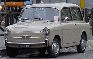 rifacimento del modello Fiat 500 familiare (Au...