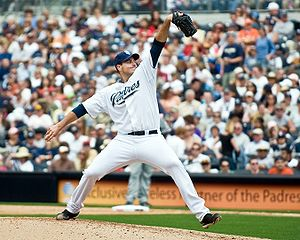 Chris Young San Diego Padres pitcher
