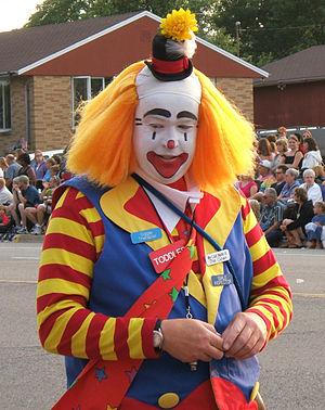 Colorful Clown 3