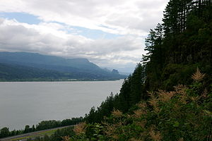 Columbia River Gorge east of Portland, OR