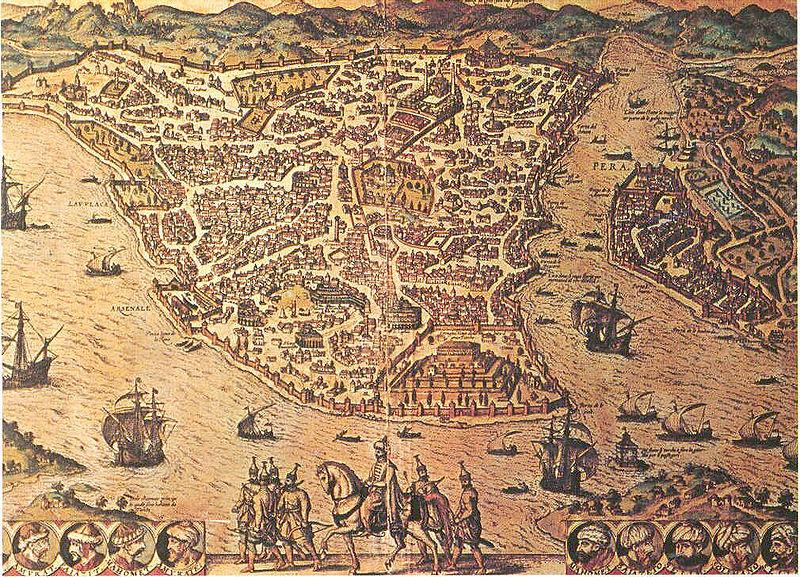 Peta Konstantinopel