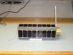 Genesat 1 small satellite