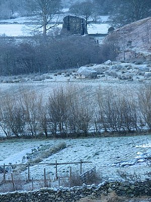 English: Gleann Beag Looking from Dun Troddan ...