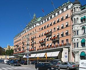 Grand Hôtel, Stockholm, Sweden.