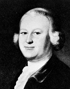 James Otis, portrait by J. Blackburn, 1755; in...