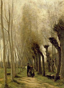 Les Saules de Marissel 1857 55 × 39,7 Walters Art Museum, Baltimore