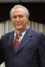 "Temer receives the ""judicial merit medal"""