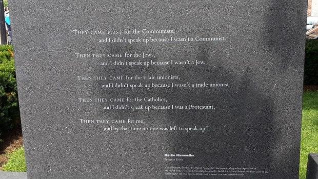 מערך הוויקיפדיה First They Came... - לא מוגן בזכויות יוצרים.