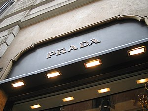 The Prada store in Rome.