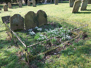 English: St. Etheldreda's Churchyard - Family ...