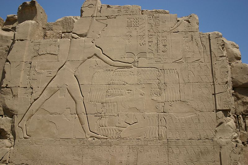 File:Thutmose III at Karnak.jpg