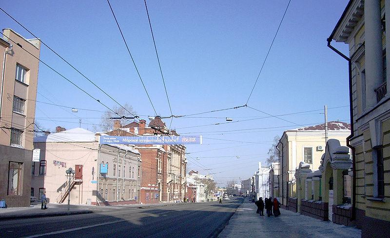 File:Tomsk Lenin Avenue.jpg