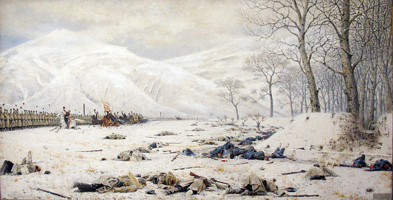 File:1878 Vereshchagin Schlachtfeld am Schipkapass anagoria.JPG