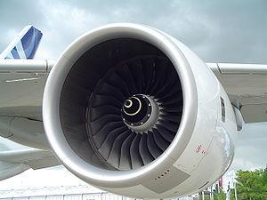 Rolls-Royce Trent 900 on the prototype Airbus ...