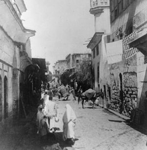 """In the street called Straight, Damascus,..."