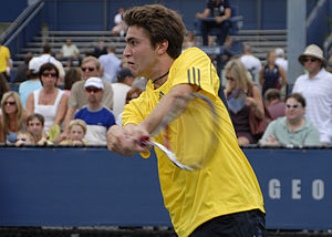 Gilles Simon at 2008 US Open