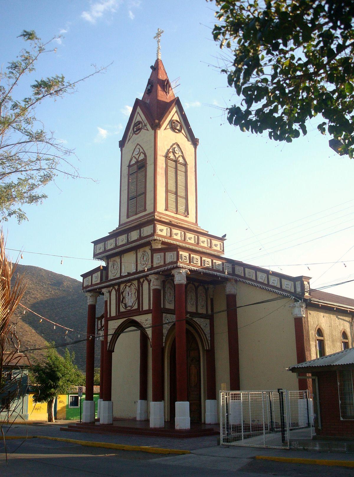 Iglesia De La Merced Petorca Wikipedia La