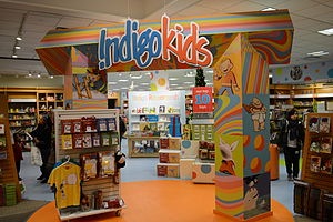 English: Indigo Kids, Indigo Eaton Centre