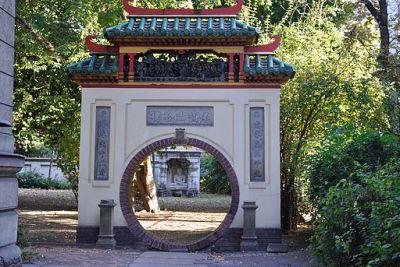 Knorr-villa (majd Hopp-villa) történeti kertje (18418. számú műemlék)