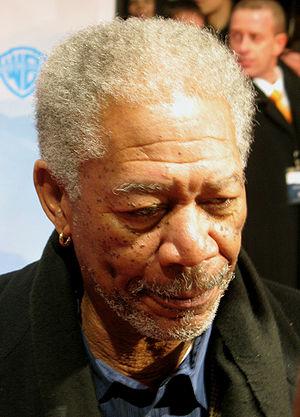 Deutsch: Morgan Freeman bei der deutschen Film...