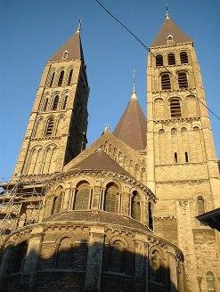 Notre Dame de Tournai, Belgium (Sunset)
