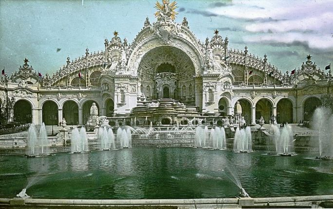 Paris Exposition Palace of Electricity and Chateau of Water, Paris, France, 1900