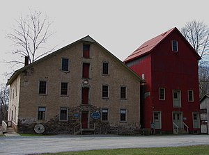 English: Prallsville Mill, Stockton, New Jersey.