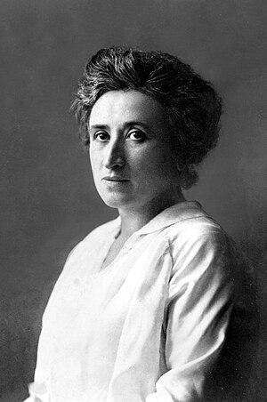 Portrait of Rosa Luxemburg. Français : Portrai...