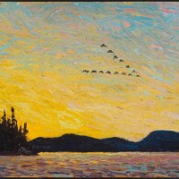 7 Sky Paintings by Tom Thomson