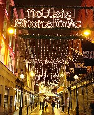 English: Wicklow Street, Dublin, Ireland. A Ch...