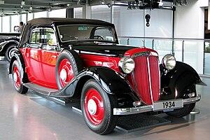 English: Audi Front UW220