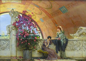 English: sir Lawrence Alma-Tadema (1836 – 1912...