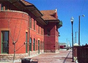 Dodge City Train Station, Kansas