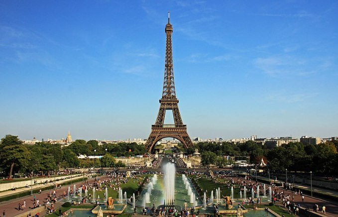 File:Eiffel tower from trocadero.jpg