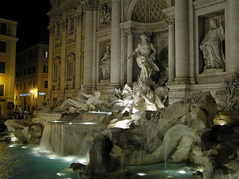 ไฟล์:Fontana di Trevi by night.JPG