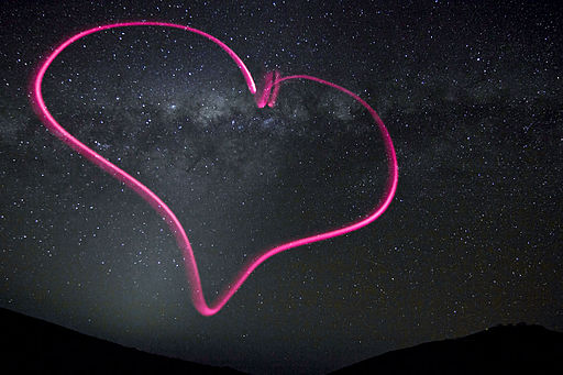 Heart of the Milky Way - Valentine's Day