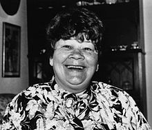 Black and white photo of Jow Cowley smiling