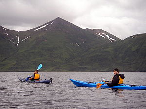 Kayaking in the Kodiak Archipelago