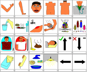 Symbol Table for Non Verbal communication with...