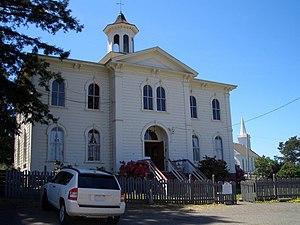 Potter Schoolhouse in Bodega (California), use...
