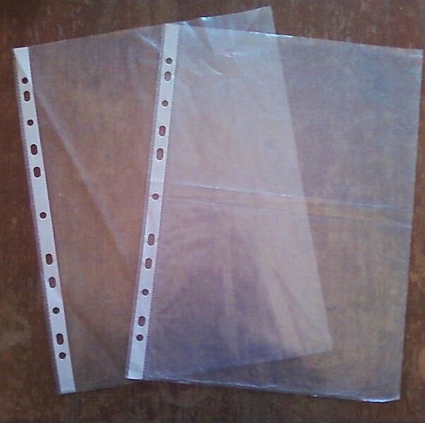 pochette plastique a4