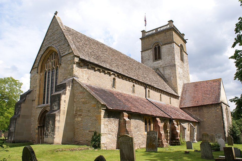 Photo of St Mary the Virgin parish church, Ripple, Worcestershire